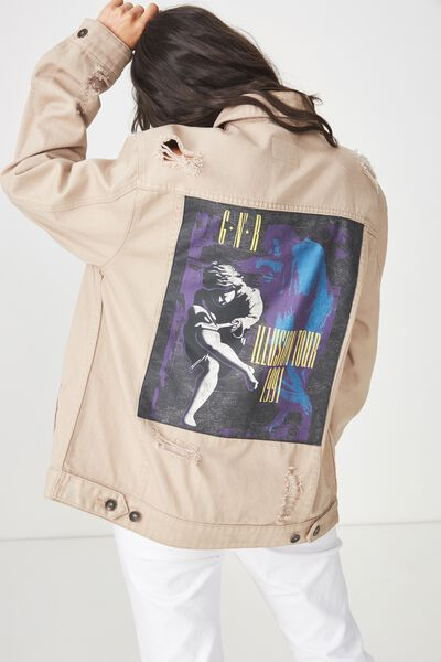 Rodeo Collaboration Jacket, GUNS N ROSES/STONE