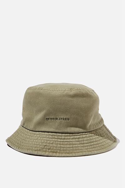 Bucket Hat, KHAKI/WEEKEND STUDIO