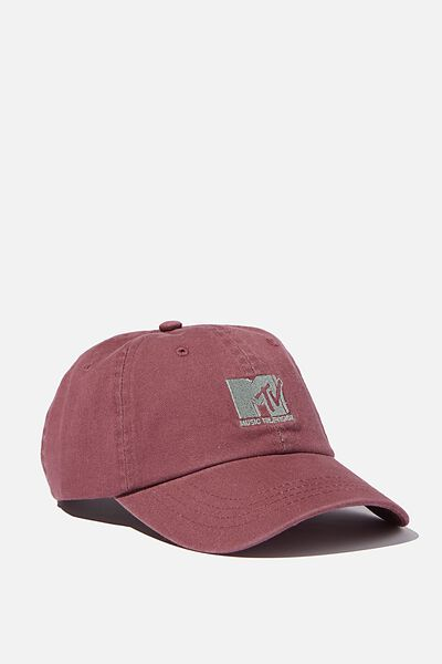 Special Edition Dad Hat, LCN MTV BURG/LOGO