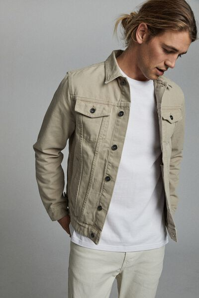 Rodeo Jacket, STONE CANVAS