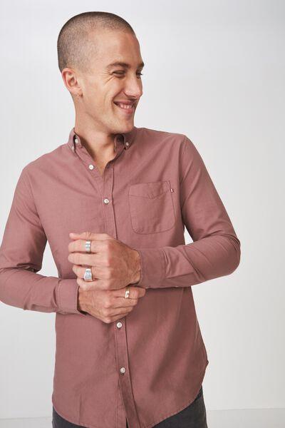 Brunswick Shirt 3, DUSTY RED