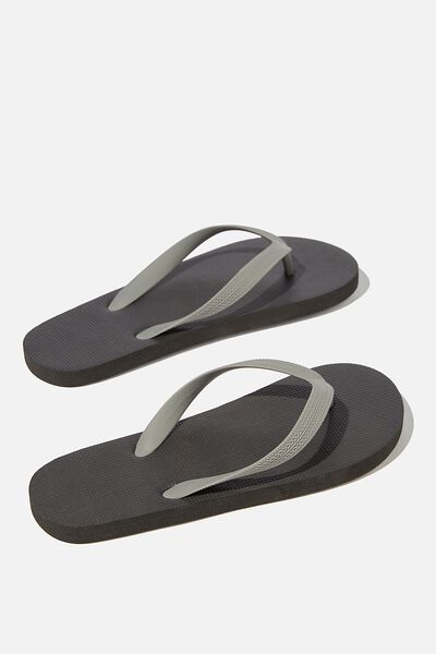 Bondi Flip Flop, BLACK/GREY
