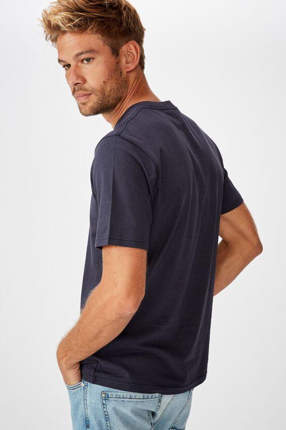 Tbar Cny T-Shirt, SK8 TRUE NAVY/RAT