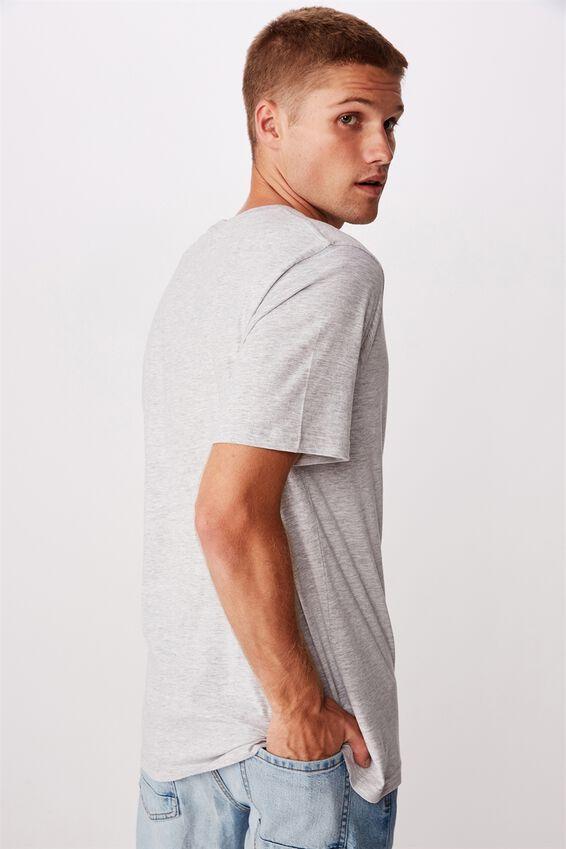 Tbar Street T-Shirt, LIGHT GREY MARLE/NINETY/FOUR