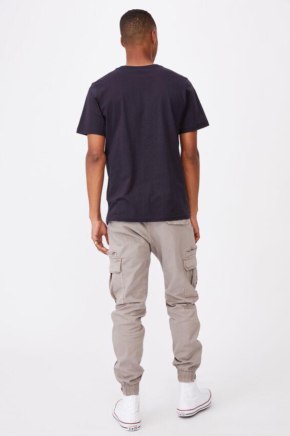 Essential Vee Neck T-Shirt, INK NAVY