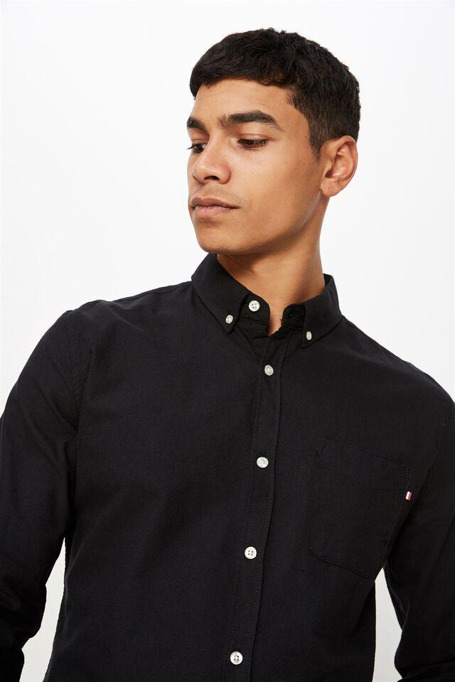 Brunswick Shirt 3, BLACK OXFORD