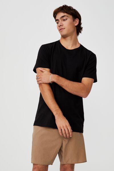 Board Short, TAN/BLACK