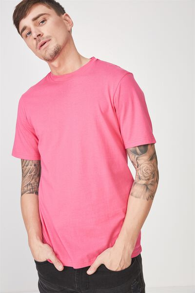 Tbar Tee 2, VIBRANT PINK/SOMEWHERE ELSE