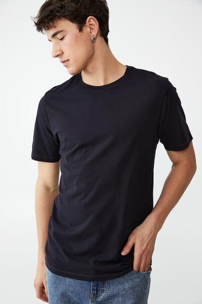 Organic Crew T-Shirt, INK NAVY