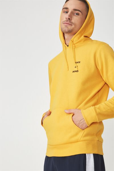 Fleece Pullover 2, ARTISAN GOLD/STATE OF MIND