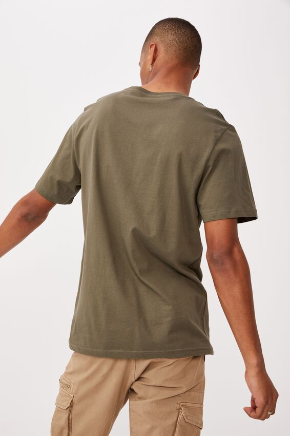 Essential Crew T-Shirt, MILITARY