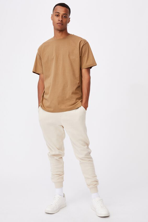 Essential Skate T-Shirt, AGED CAMEL