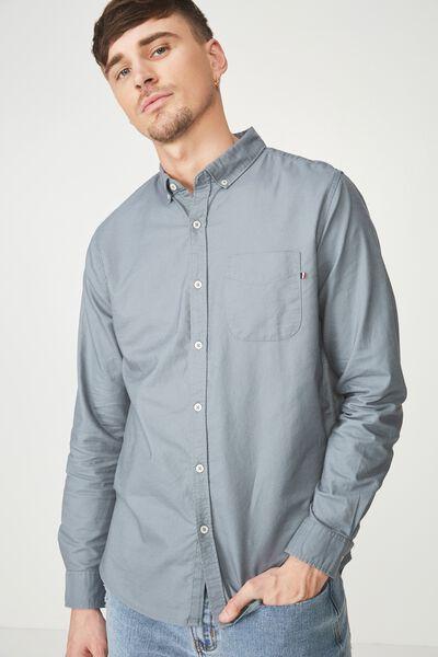 Brunswick Shirt 3, MINERAL BLUE