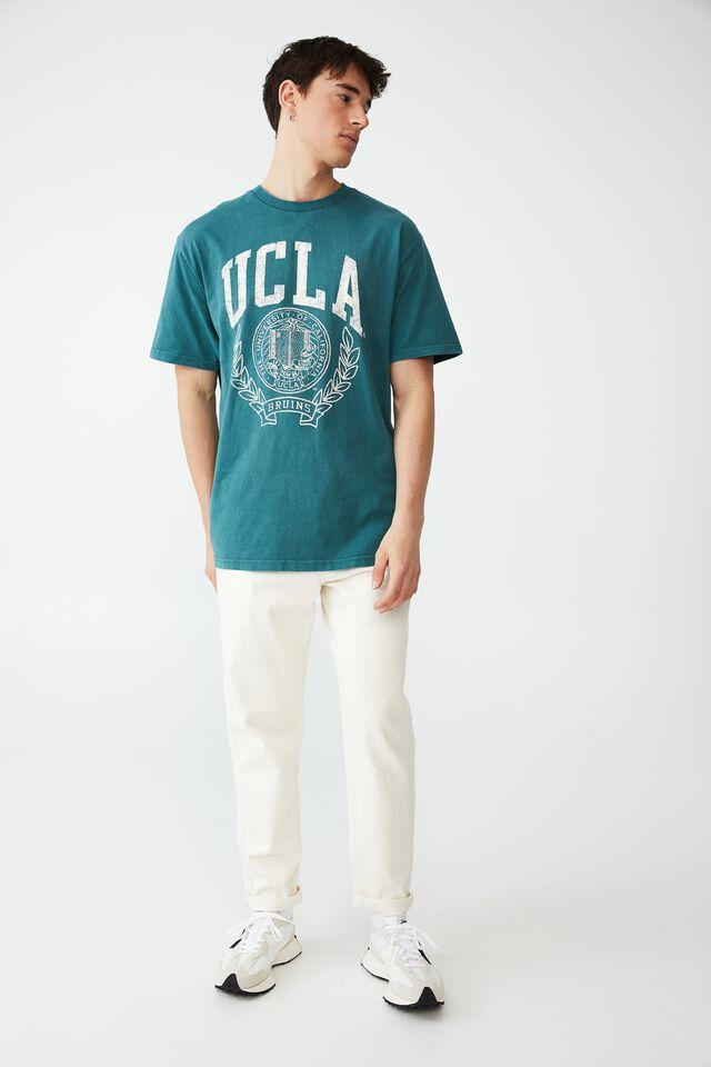 Special Edition T-Shirt, LCN UCL DARK TEAL/UCLA - VINTAGE SEAL