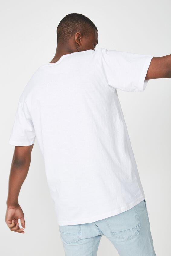 Essential Skate Tee, WHITE