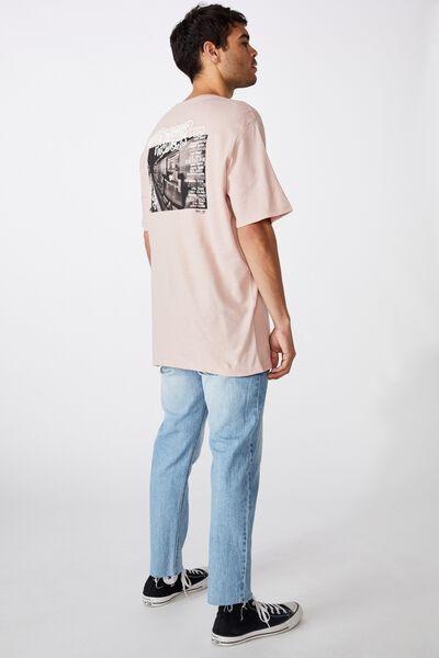 Tbar Art T-Shirt, SK8 DIRTY PINK/UNDERGROUND PROJECTS