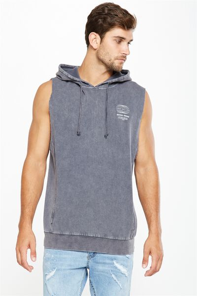 Sleeveless Hood, LATE NIGHT BLUE/NWYRK