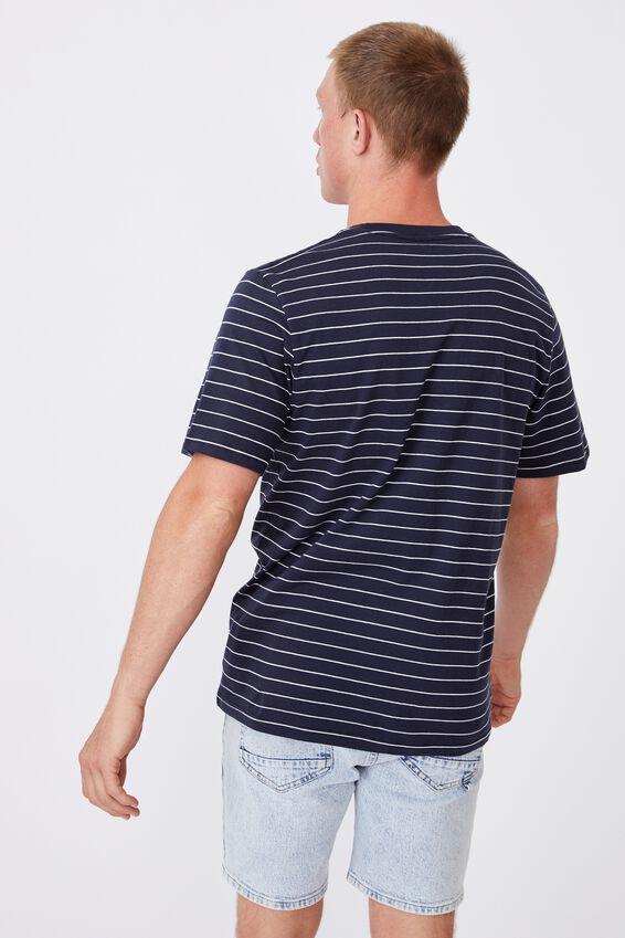 Tbar Premium T-Shirt, TRUE NAVY/WHITE EASY STRIPE