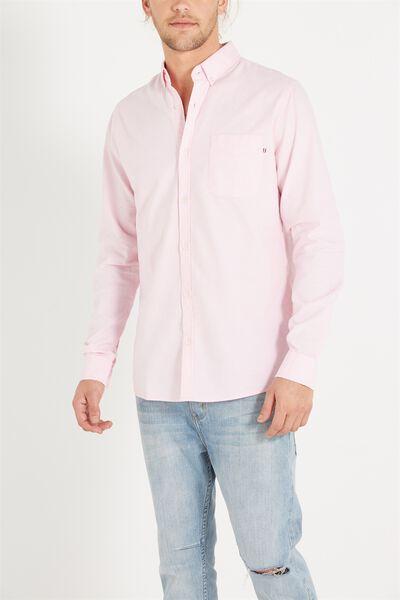 Brunswick Shirt 3, PINK OXFORD