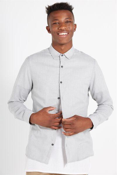 Slim Smart Shirt, GREY CHECK
