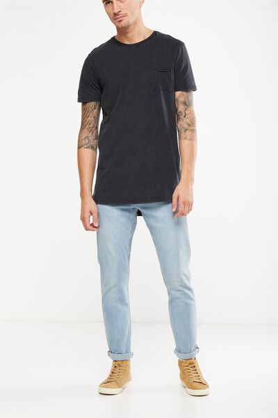 Slim Fit Jean, MID WEST BLUE