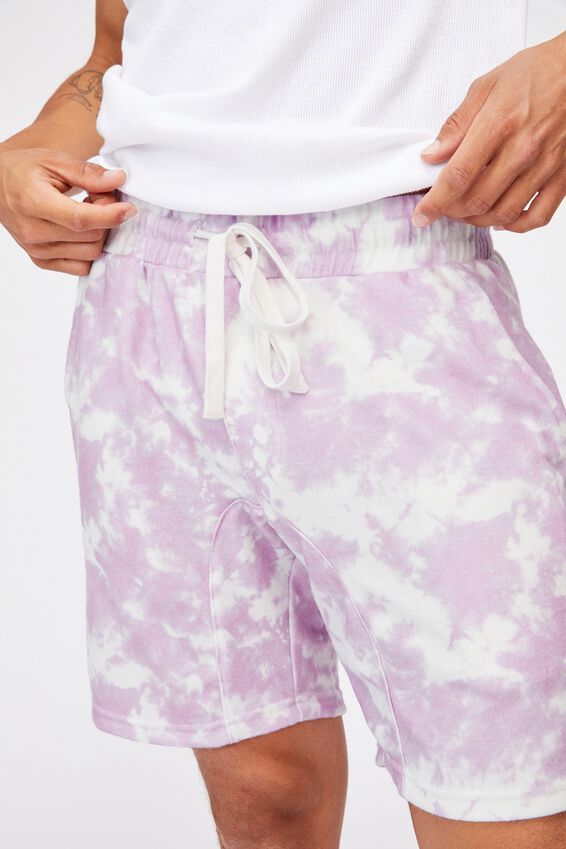 Lounge Short, MELLOW MAUVE TIE DYE