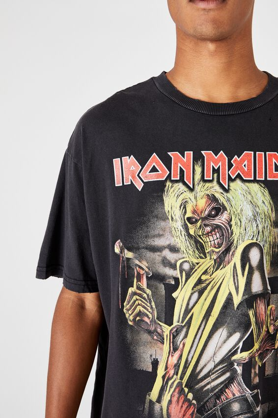 Special Edition T-Shirt, LCN IM BLACK/IRON MAIDEN - KILLERS