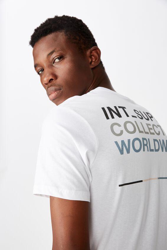 Tbar Street T-Shirt, WHITE/BRKLYN SPPLY.INT