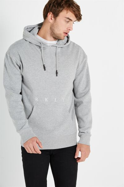 Fleece Pullover 2, GREY MARLE/BRKLYN SPACE