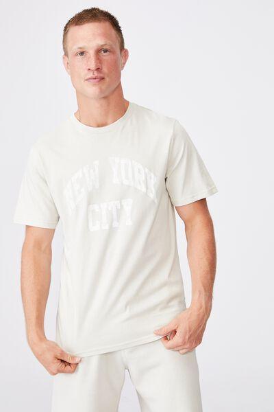 Tbar Sport T-Shirt, SMOKE/NEW YORK CITY