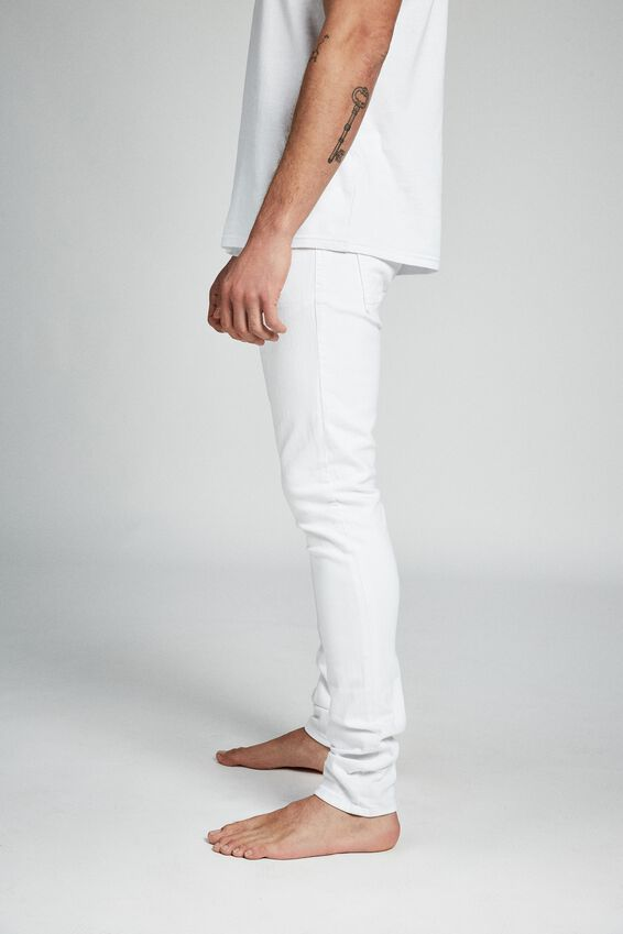 Super Skinny Jean, WHITE