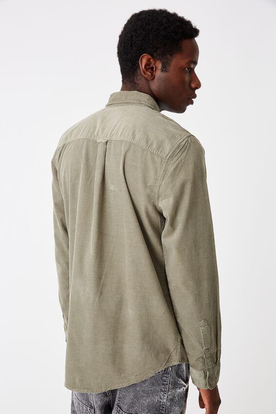 Vintage Cord Shirt, KHAKI