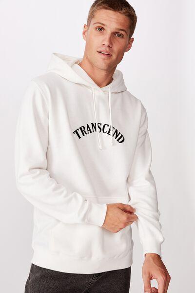 Fleece Pullover 2, VINTAGE WHITE/TRANSCEND