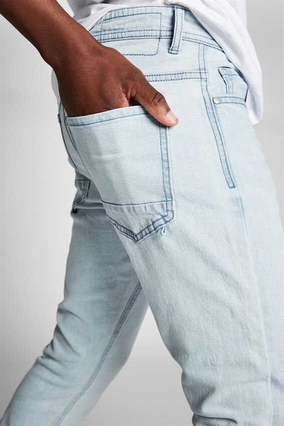 Slim Fit Jean, BONDI BLUE