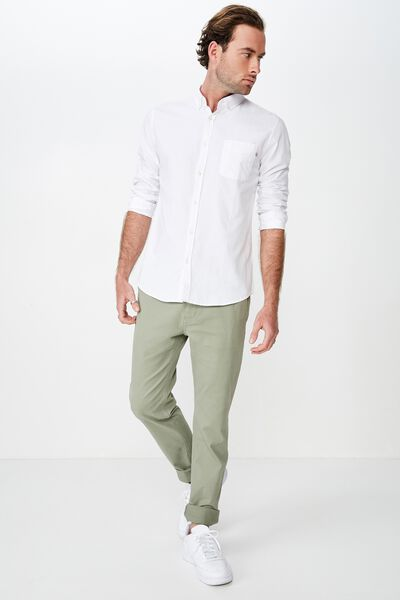 Knox Chino Pant, LIGHT FOREST GREEN