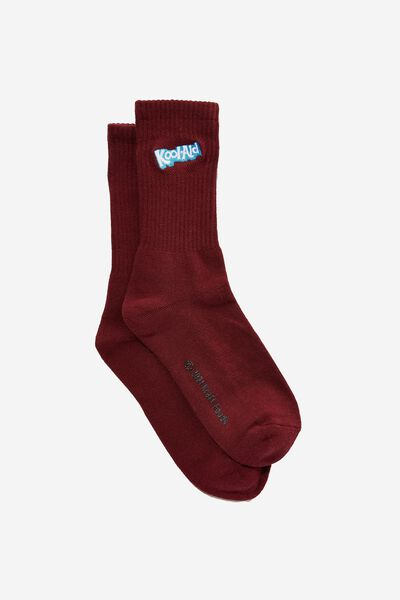 Special Edition Active Sock, LCN TBA BURG/KOOL AID LOGO