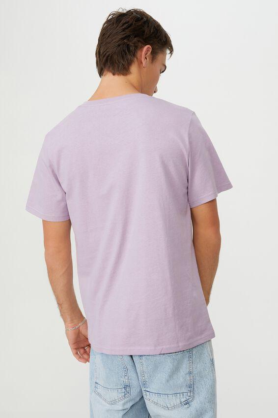 Essential Vee Neck T-Shirt, HAPPY LAVENDER