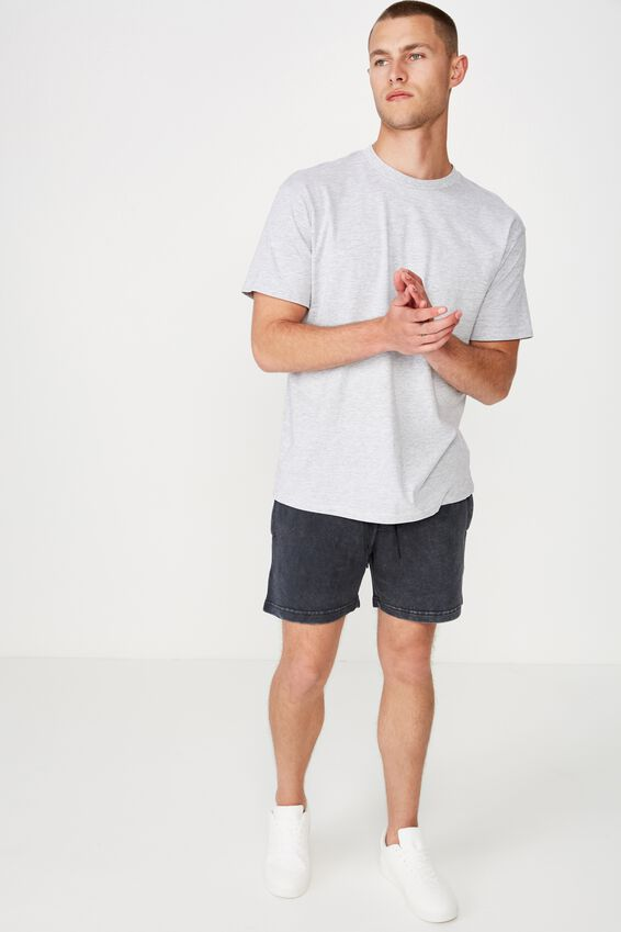 Volley Jogger Short, BLACK