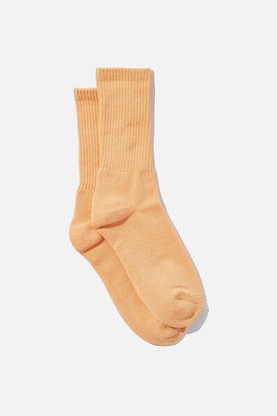 Essential Active Sock, SOFT ORANGE