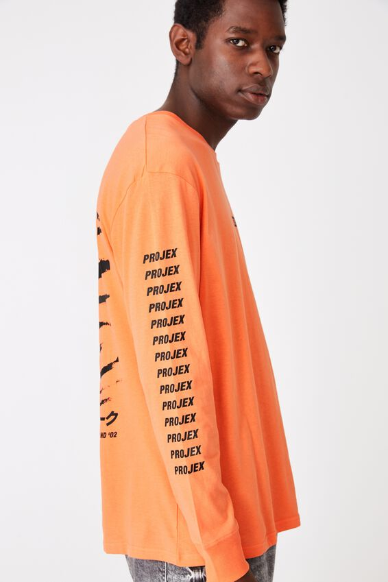 Tbar Long Sleeve, SHERBERT ORANGE/PROJEX