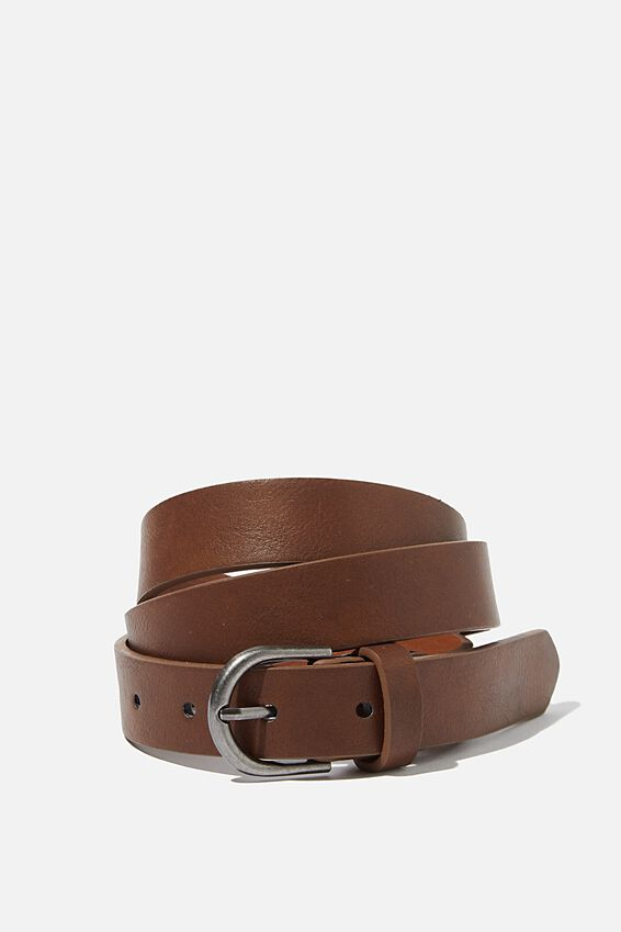 Slimline Belt, BROWN