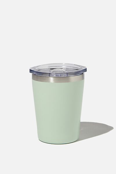Small Stainless Steel Tumbler, PALE MINT