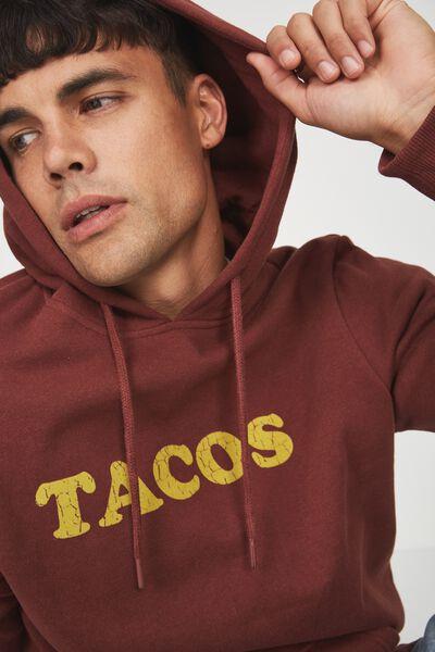 Fleece Pullover 2, BARN RED/TACOS