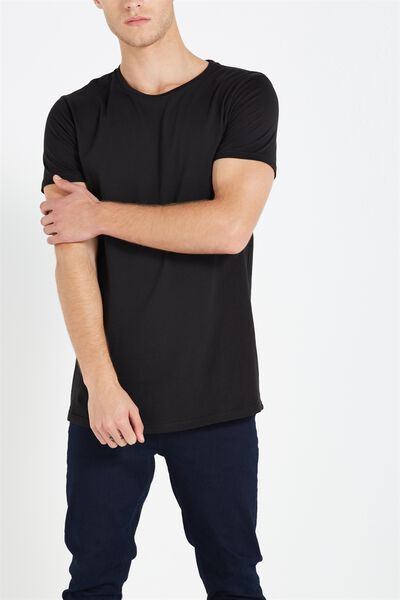 Essential Longline, BLACK