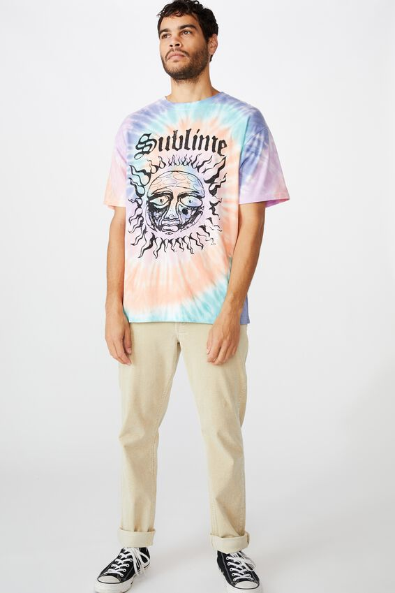 Special Edition T-Shirt, LCN PRO WHITE SUBLIME - TIE DYE