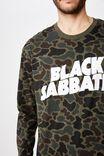 Tbar Collaboration Ls Tee, LCN BRA CAMO/BLACK SABBATH - LOGO