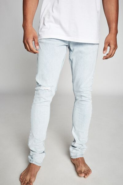 Super Skinny Jean, GHOST BLUE + BLOWOUT