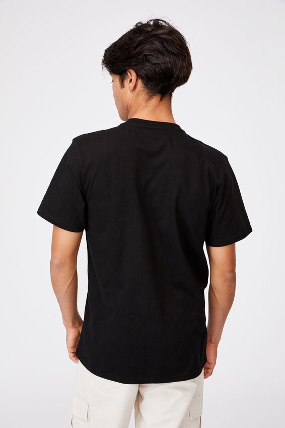 Tbar Collab Pop Culture T-Shirt, LCN HER BLACK/HERSHEYS-CHOCOLATE