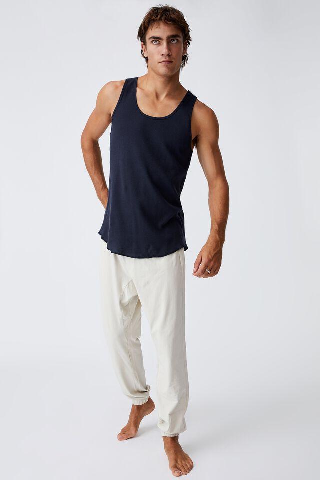 Organic Jersey Sleep Pant, BONE