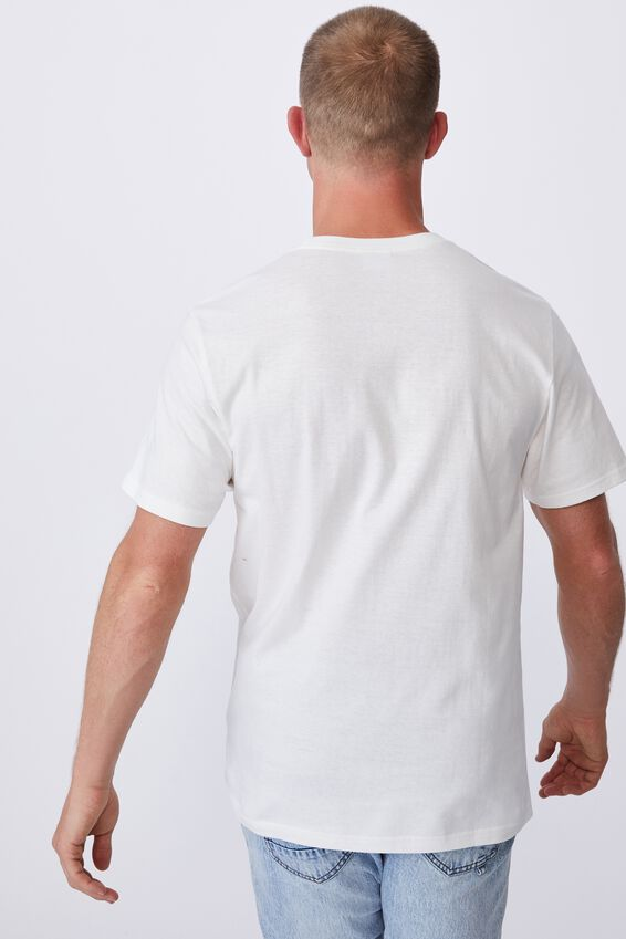 Tbar Art T-Shirt, VINTAGE WHITE/KEEP YOUR HEAD
